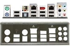 ATX pannello I/O Shield ASUS p7p55 WS supercomputer io #65 workstation BRACKET NEW