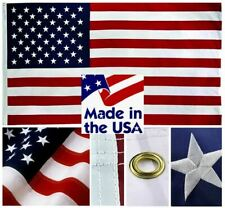 Sewn Nylon American Flags - Beautifully Embroidered HIGH QUALITY MADE IN THE USA
