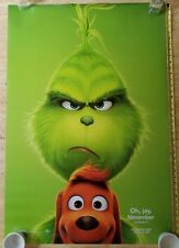 Authentic DR SEUSS THE GRINCH DS Theatrical Movie Poster 27x40