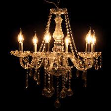 Antik 6-flammig Kronleuchter Kerzen Deckenleuchte Hängeleuchte Pendelleuchte