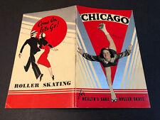 1940 Chicago Roller Skate Catalog incl Famous Skaters, Skating Dog & Bears