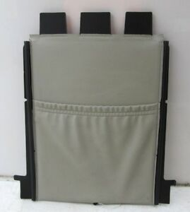 2004-2011 SAAB 9-3 AERO OEM RIGHT FRONT SEAT BACK COVER STORAGE
