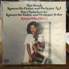 Max Bruch / Peter Tschaikowsky* - Kyung-Wha Chung ‎– ANDRE PREVIN VINYL LP