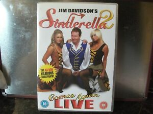 DVD SINDERELLA 2 JIM DAVIDSON VG