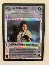 Star Wars Ccg Leia Witb Blaster Rifle Foil