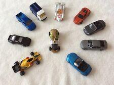Lot of 9 Maisto Assorted Diecast Cars