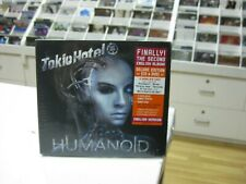 TOKIO HOTEL CD + DVD EUROPE HUMANOID 2009 DIGIPACK DELUXE EDITION