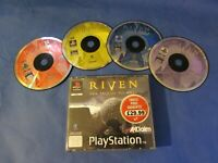 PlayStation PS1 PSX  Riven sequal to myst Boxed No manual  PAL UK game