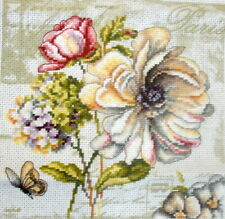 Vervaco Counted Cross Stitch Unframed Tapestry Picture Marche de Fleurs II