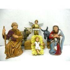 Natività 6 PZ Landi Moranduzzo CM 8 - Sacra Famiglia Pastori Presepe