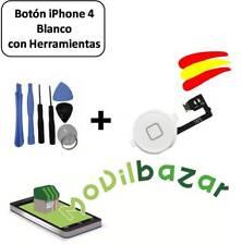 BOTON HOME FLEX IPHONE 4 BLANCO CON KIT HERRAMIENTAS.DESDE ESPAÑA
