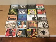 20 Cds rock punk pop grunge Nirvana Oasis Ramones Dresden Dolls Coldplay + More