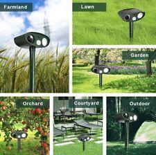 4 × animal repeller ultrasonic solar power ,Outdoor Motion Detector & FlashLight