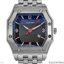 VALENTINO PRESTIGE COLLECTION SWISS MOVEMENT GENTLEMEN'S DATE WATCH, BRAND NEW
