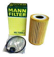 Original MANN Ölfilter HU7008z & Dichtungen Audi Seat Skoda VW