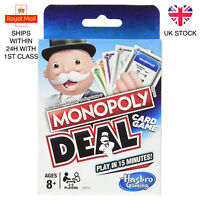 Monopoly Deal Monopoly Brand Deal Card Game Brand New UK Stock