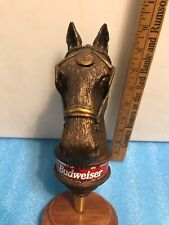 BUDWEISER CLYDESDALE HORSE HEAD beer tap handle. USA