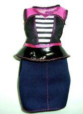 %***Original Barbie Curvy Kleidung*Schößchenbluse und Rock***%