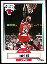 Michael Jordan 1990-91 Fleer  Uncorrected Error Card #26  NBA GOAT