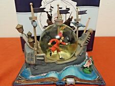Hallmark/Disney Peter Pan Wonder's Within Snowglobe Peter's Perilous Plight NIB