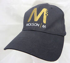 Molson beer John Molson baseball hat cap adjustable flex fit