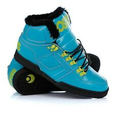 Osiris NYC 83 SHR Men's Shoes Teal/Lime/Black Size 9