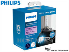 New! PHILIPS D4S 6000K Ultinon HID Xenon Headlight Bulbs Hi/Low 42402WXX2 Pair