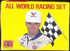FACTORY SEALED 1991 ALL WORLD RACING PPG INDY CAR WORLD SERIES COMPLETE CARD SET