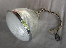 lampe lustre industriel usine atelier design holophane loft  chandelier