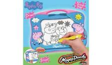 Peppa Pig Magna Doodle Lightweight, Magnetic Drawing Tablet Draw And Erase NEW