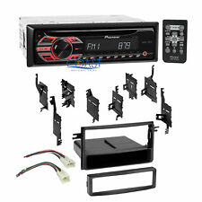Pioneer CD MP3 Stereo Dash Kit Wire Harness for 05-UP Toyota FJ Cruiser Scion