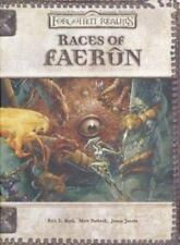 Forgotten Realms Accessory Races of Faerûn Hardcover Book NEW Dungeons & Dragons