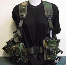 DPM Military PLCE Webbing Set, Pouches, Yoke & Belt, Paintballing