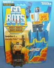 GO BOTS Leader-1 Friendly Robot Leader Action Figure MOC Vintage Tonka