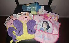 Winnie the Pooh Sippy Cup-Disney Snow White Waterproof Bib-2 Baby Bath Mitts