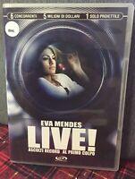 Live ! Ascolti Record al Primo Colpo DVD Eva Mendes Ex Noleggio Come Foto N