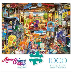 Buffalo Games Jigsaw Puzzles 1000 Pieces, Aimee Stewart, Picker's Haul