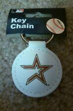 MLB Houston Astros Retro Logo Official Leather Keychain New Free Shipping