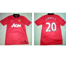 2013/2014 Nike Manchester United Home Shirt Jersey Top *Van Persie #20* *Small*