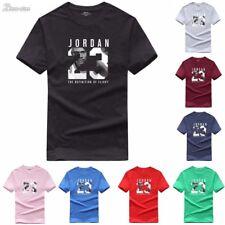 Cotton Men Jordan 23 Print tshirt Brand Clothing Men Sports T-shirt Swag Tee