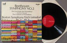 M365 Beethoven Symphony No.2 Prometheus Leinsdorf RCA Red Seal LSC 3032  Stereo