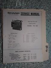 sharp fx ebay rh ebay ca Sharp FX Plus Specs AT&T Sharp FX