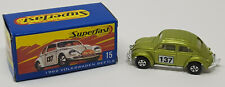 Matchbox New Superfast 2004 #15 1962 Volkswagen VW Beetle Hershey Dealer Model