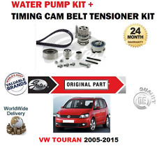 FOR VW TOURAN CAYC CAYB BMN CFJA CFHF 2005-2015 TIMING BELT KIT and WATER PUMP