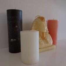 Bougies en cire roi d'Egypte + trois couleurs