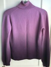 Cashmere sweater womens turtle neck sweater, unbranded, Ombre dip dyed size Med