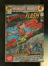 World Finest Comics 198 VG 4.0 *1 Book Lot* DC Comics! Superman,Flash Race! 1970