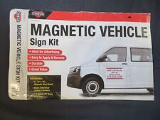 """Cosco Magnetic Vehicle Sign Kit Includes (2) 12"""" x 18"""" Magnetic Vinyl Sheets"""
