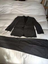Mens 2 piece suit grey Saville Row BRAND NEW