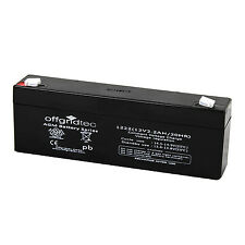 Offgridtec© 2,2Ah / 12V AGM Akku Batterie Bleiakku - 2ah 2,1ah Ersatzakku Gel